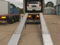 Loading Ramps in place ready for unloading