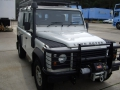 Landrover Defender ready to be shipped